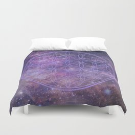 Sacred Geometry 10 Duvet Cover