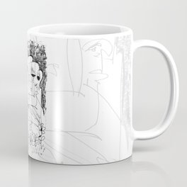 Fear - b&w Coffee Mug