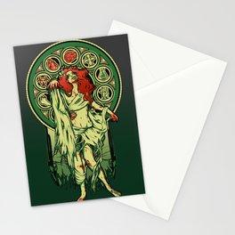 Zombie Nouveau Stationery Cards