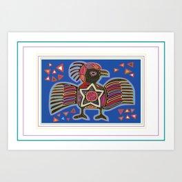 Panama Molas Art Print