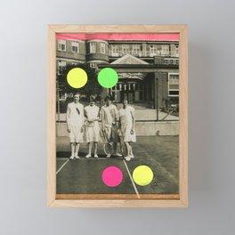 7 Balls Framed Mini Art Print