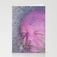 no face Stationery Cards featuring Face by Victoria Herrera