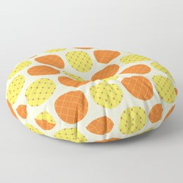 Dotty Pineapples - Singapore Tropical Fruits Series Floor Pillow