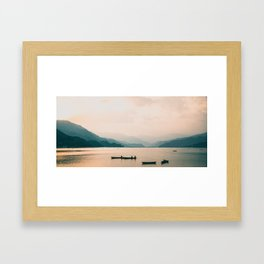 Nepal Series | Lake Pokhara, Nepal Framed Art Print