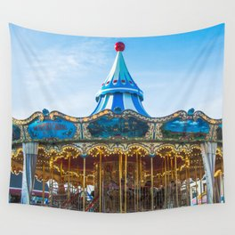 Carousel Pier 39 San Francisco Wall Tapestry