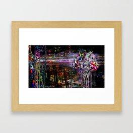 synthFest Framed Art Print
