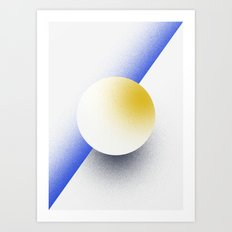 Shape Studies: Circle IV Art Print