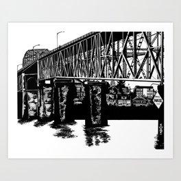 Manette Bridge Art Print