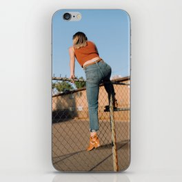 she's outta here iPhone Skin