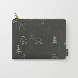 Winter Trees in Slate Carry-All Pouch