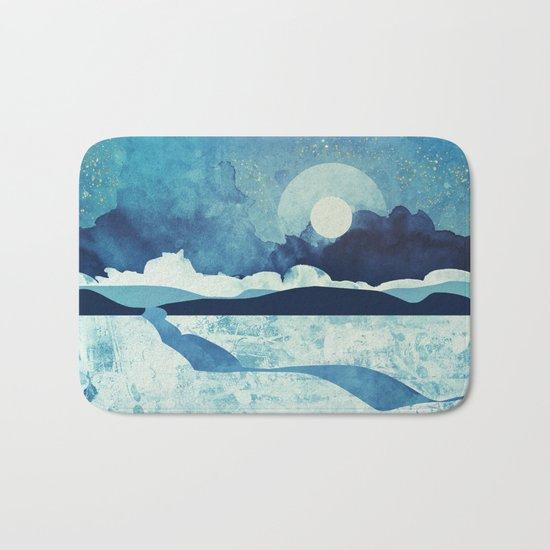 Blue Desert Bath Mat