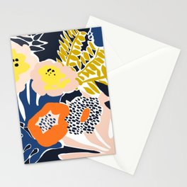 More design for a happy life Stationery Cards