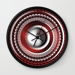 Spinning Out of Control Wall Clock