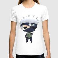 chibi T-shirts featuring Kakashi Chibi by Lyre Aloise