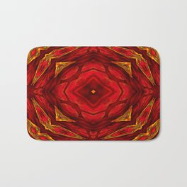 Red involvements Bath Mat