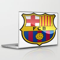 barcelona Laptop & iPad Skins featuring BARCELONA by Acus