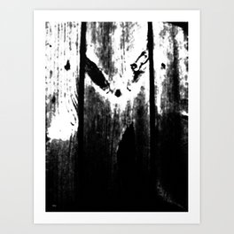 The Screaming tree Art Print