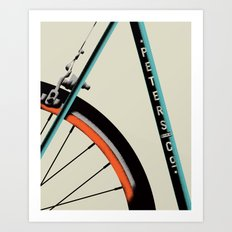 Bike Portrait 1 Art Print