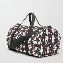 B&W Wonderland Duffle Bag