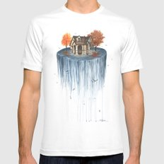 The Flood Mens Fitted Tee MEDIUM White
