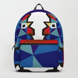 Polish Folk Rooster Backpack