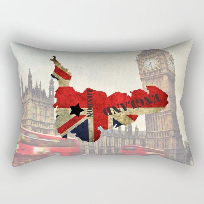 ENGLAND Rectangular Pillow