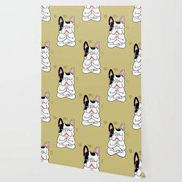 Namaste French Bulldog Wallpaper