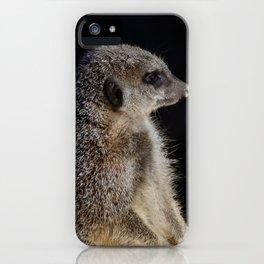 Meerkat guard iPhone Case