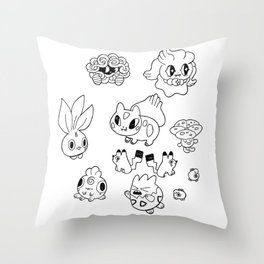 Pokemen  Throw Pillow