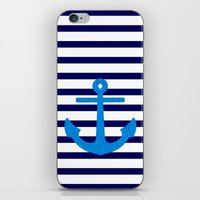 sail iPhone & iPod Skins featuring Sail by M Studio