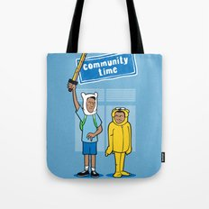 Community Time! Tote Bag