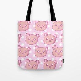 Teddies and Polka Dots Tote Bag