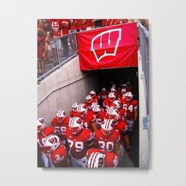 Wisconsin Badgers Metal Print