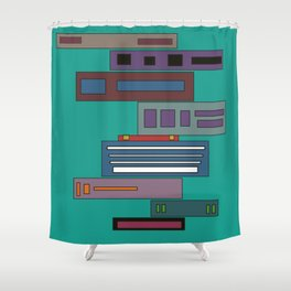 Babel Shower Curtain