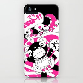 Desu~!!: Pink iPhone Case