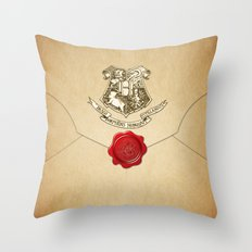 HARRY POTTER ENVELOPE Throw Pillow