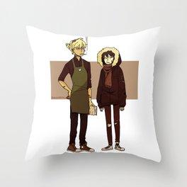 Kids These Days Throw Pillow