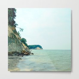 Fossil Beach Metal Print