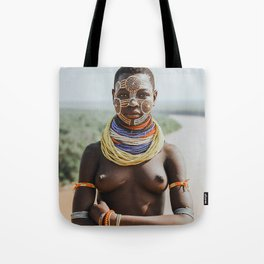 Karo Tribeswoman II Tote Bag