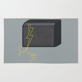 Electric/Acoustic Lightning Rug