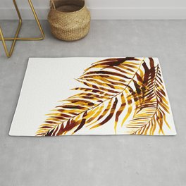 Palm trees, leavs Rug