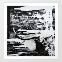 carmilla Art Prints featuring Carmilla by Sandra Boskamp