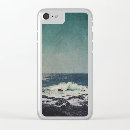 emerAld oceAn Clear iPhone Case