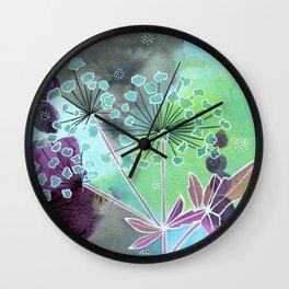 Water Hemlock Wall Clock