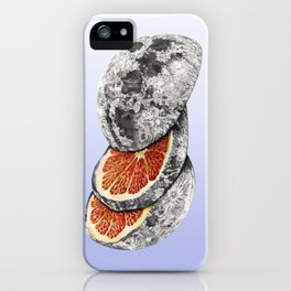 In which there is a mandarin in the moon iPhone Case