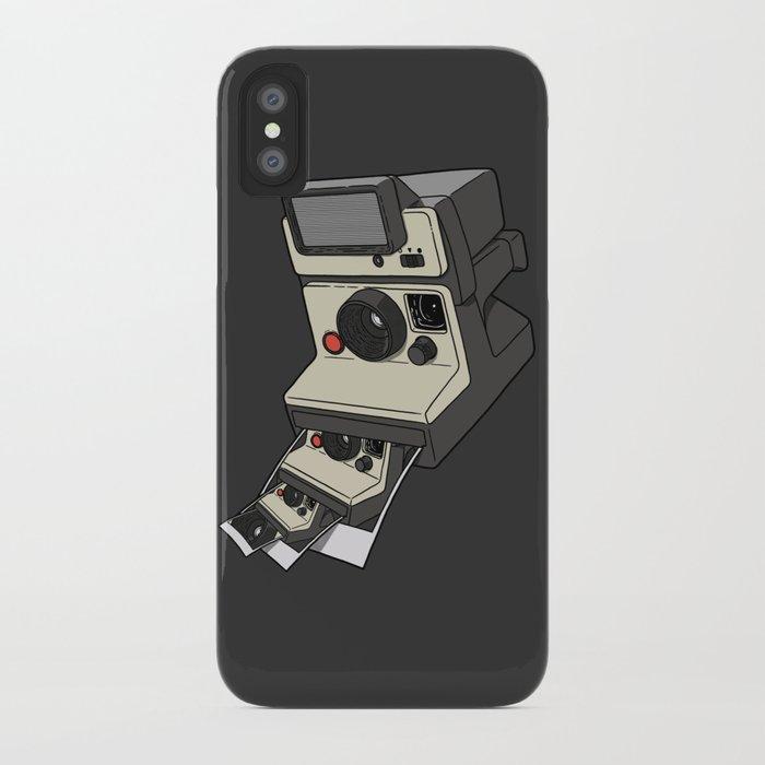Cam-ception (continuous snapshot) iPhone Case