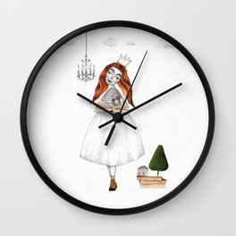 Picture Six: The Book Wall Clock