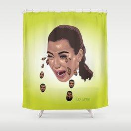 """""""Kryeezy"""" by Lex Lumens Shower Curtain"""