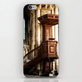 The Pulpit iPhone Skin