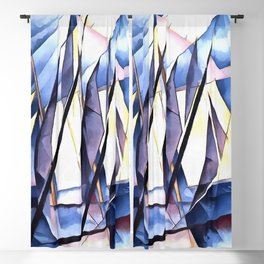 Sail In Two Movements After Charles Demuth Blackout Curtain